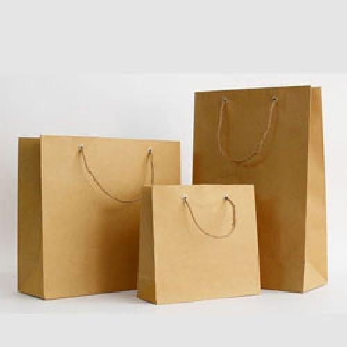 bán túi giấy trơn có sẵn