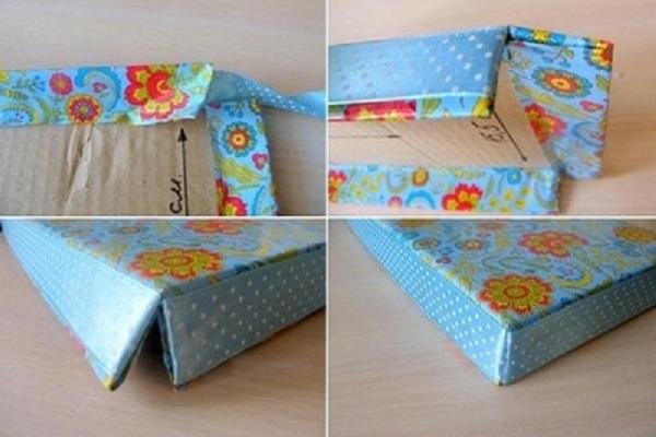 cách làm hộp quà bằng giấy bìa cứng