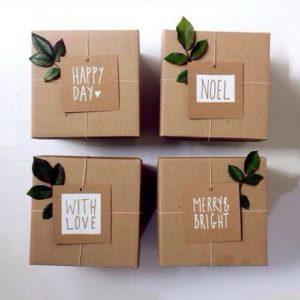 hộp giấy kraft có sẵn