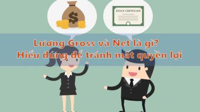 lương gross và net