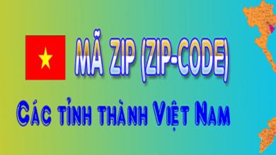 mã bưu điện