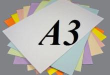 kích thước khổ giấy a3