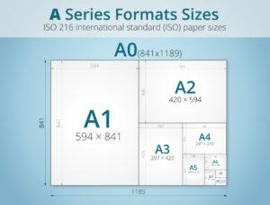 size giấy a5