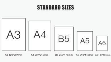 kích thước tờ a5