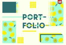 portfolio mẫu