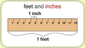 1 feet