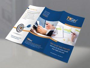 brochure gấp 3