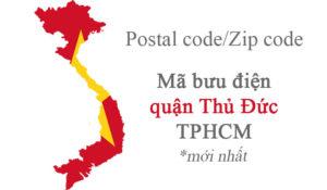 mã bưu điện tphcm