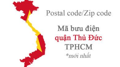 mã bưu chính thành phố hồ chí minh