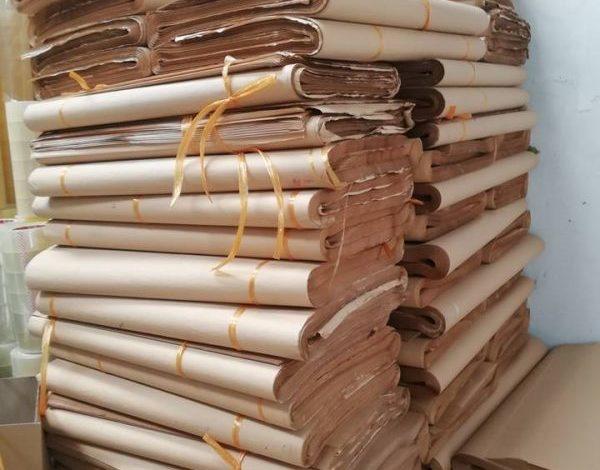 giấy xi măng gói hàng