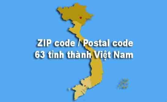 mã bưu chính việt nam