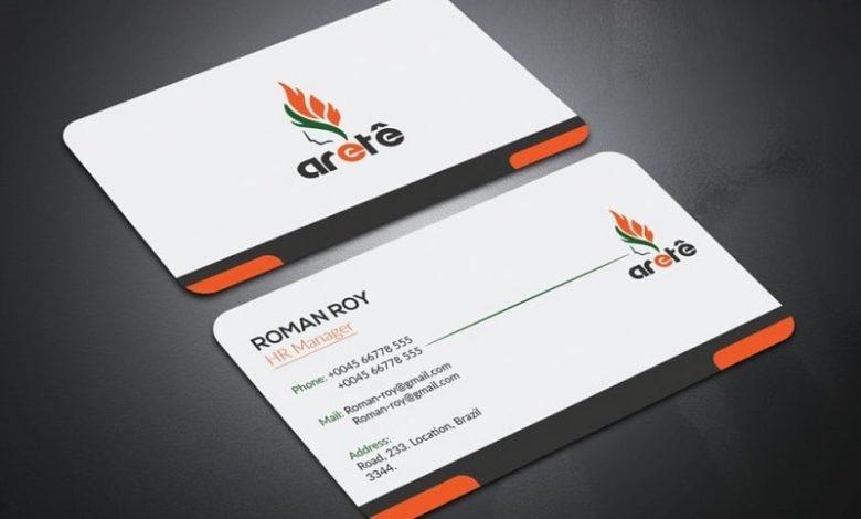 mẫu card visit