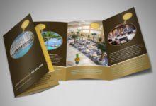 thiết kế brochure online