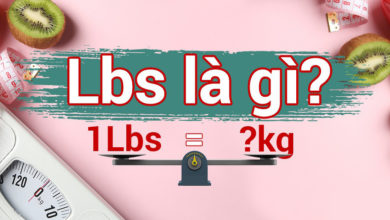 đơn vị lbs là gì