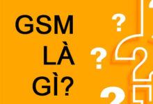 gsm là đơn vị gì