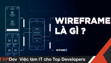 wireframe là gì