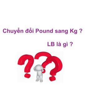 chuyển đổi lbs sang kg