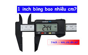 1in bằng bao nhiêu cm