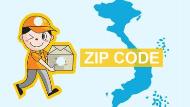 mã zip của việt nam