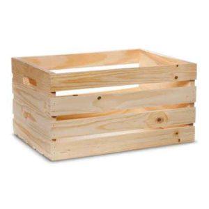 hộp gỗ thông