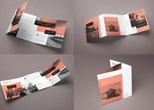 kích thước brochure