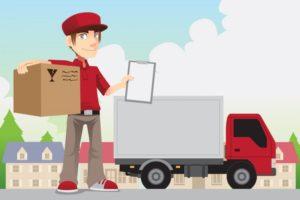 các dịch vụ giao hàng