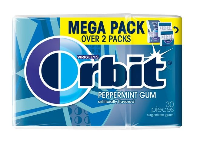 kẹo cao su orbit