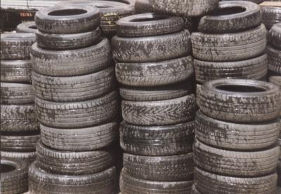 công nghệ nhiệt phân lốp xe thải