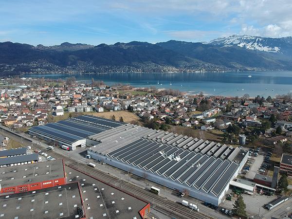 năng lượng xanh tại các nhà máy đóng gói